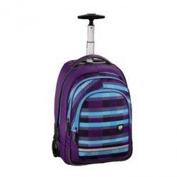 Plecak Szkolny Na Kółkach Bolton Kolor: Summer Check Purple