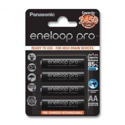 4 akumulatory panasonic eneloop pro r6 aa 2500 mah