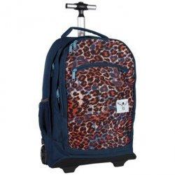 Aw16 plecak na kółkach wheely : o0091 mega flow blue
