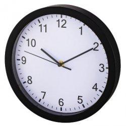 Zegar ścienny pp-250 czarno-biały
