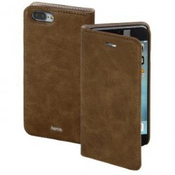 guard case booklet gsm dla dla apple iphone 7 plus, brązowy