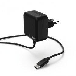 Ładowarka, usb type-c, power delivery (pd), 3a, czarna