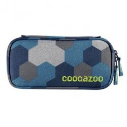 Coocazoo przybornik pencildenzel, blue geometric melange