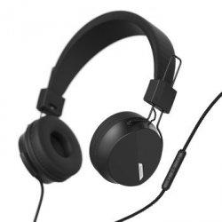 On-ear-stereo-headset next, schwarz