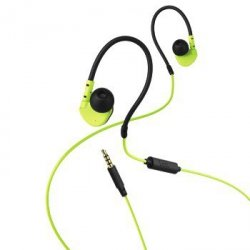 Active in-ear st. headset bk/gn