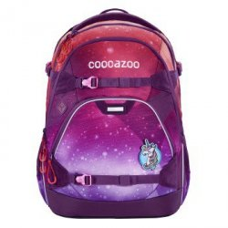 Coocazoo plecak scalerale, oceanemotion, galaxy pink (made of ocean plastic)