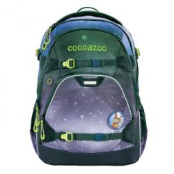 Coocazoo plecak scalerale, oceanemotion, galaxy blue (made of ocean plastic)