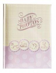 Album 10x15 na 200 zdjęć z opisem - różowy dla dziewczynki
