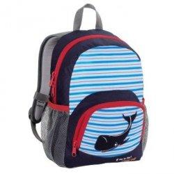 Dressy plecak przedszkolaka, blue whale