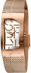 Damski zegarek Esprit ES Houston Bold srebrny Rosegold