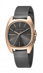 Damski zegarek Esprit ES Infinity Grey Rosegold Mesh - L ES1L038M0125