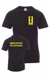Koszulka z nadrukiem - nauczyciel też człowiek - STRAJK