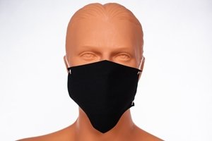 3x maseczka na twarz czarna - streetwear