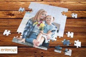 Puzzle 19x24 cm z ulubionym zdjęciem 110 elementów