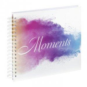 Album 28x24/50 Moments Watercolor spiralny - Hama