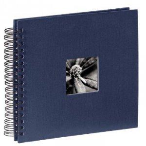 Album 28x24/50 Fine Art niebieski czarne strony - Hama