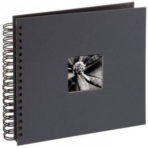 Album 28x24/50 Fine Art ciemny szary czarne strony - Hama
