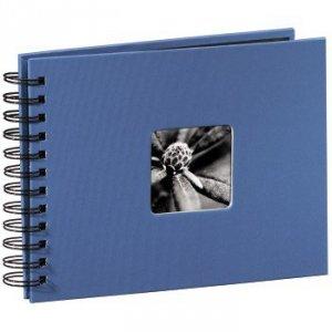 Album 24x17/50 Fine Art błękitny czarne strony - Hama