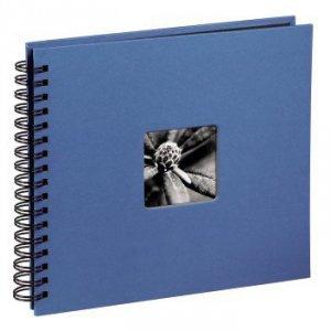 Album 28x24/50 Fine Art błękitny czarne strony - Hama