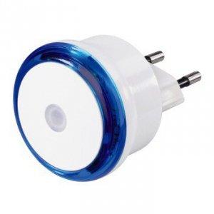 Lampka nocna led basic, niebieska