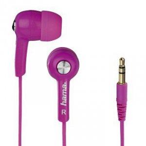 Słuchawki douszne HK2103 różowe - Hama