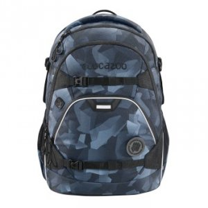 Plecak szkolny Scalerale Grey Rocks - Coocazoo