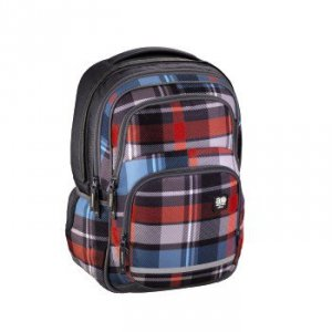 Plecak szkolny Blaby Woody Grey - All Out Hama