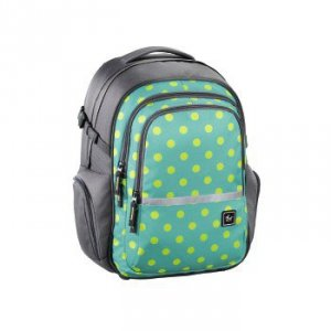 Plecak szkolny Filby Mint Dots - All Out Hama