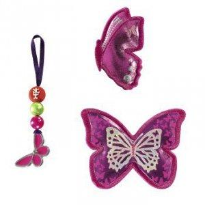 Zestaw elementów wymiennych Magic Mags Shiny Butterfly do tornistra Space - Step by Step Hama