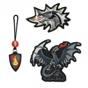 Zestaw elementów wymiennych Magic Mags Fire Dragon do tornistra Space - Step by Step Hama