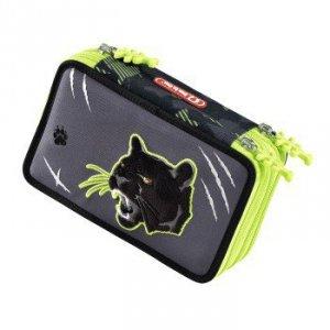 Piórnik szkolny XXL Wild Cat z wyposażeniem - Step by Step Hama