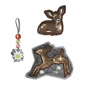 Zestaw elementów wymiennych Magic Mags Modern Deer do tornistra Space - Step by Step Hama