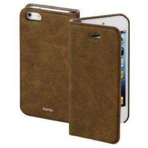 guard case booklet gsm dla apple iphone 5/5s/se, brązowy