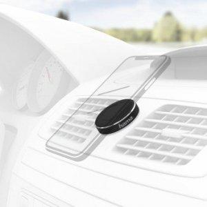 Uniwersalny uchwyt na smartfony magnet, magnetyczny, czarny