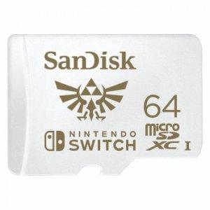 Karta pamięci do Nitendo MicroSDXC SQXAT 64GB - SanDisk