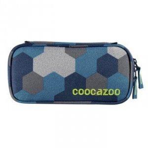 Przybornik szkolny PencilDenzel Blue Geometric Melange - Coocazoo