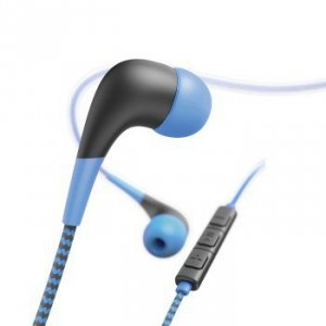 Słuchawki douszne Neon niebieskie - Hama