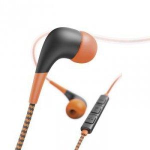 Słuchawki douszne Neon pomarańczowe - Hama