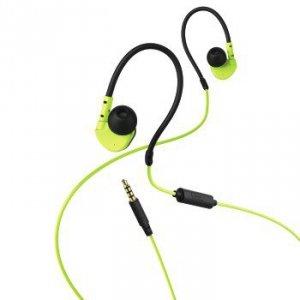 Słuchawki douszne Active zielono-czerwone - Hama