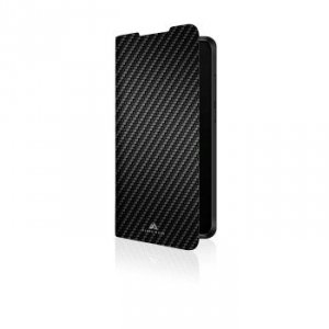 Etui do Huawei P30 Lite Flex-Carbon czarne - Black Rock