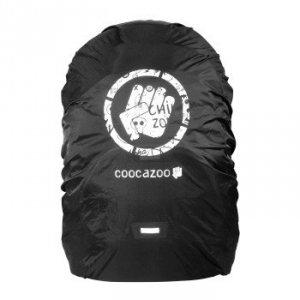 Pokrowiec na plecak czarny refleks - Coocazoo