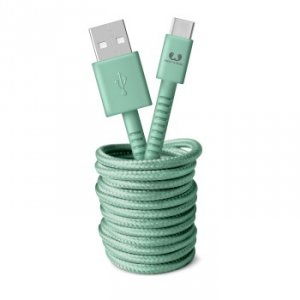 Kabel USB-C 3.0m Misty Mint - Fresh'n Rebel