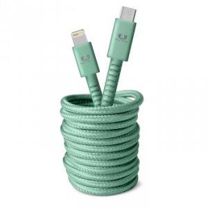 Kabel USB-C Lightning 3.0m Misty Mint - Fresh'n Rebel