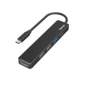 Multiport USB-C 5 PORTÓW 3 x USB-A, USB-C, HDMI - Hama