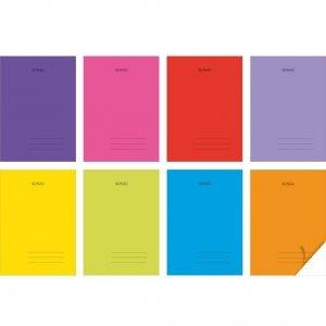 Zeszyt A5 60 kartek w kratkę PP Transparent Colors - Herlitz