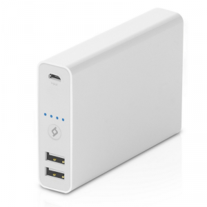 TTEC Jumbo Universal Powerbank 13000mAh 2xUSB biały (2BB109B)