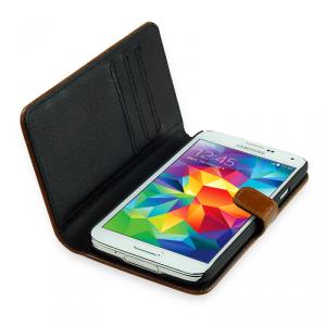 SKINK Book Etui Samsung Galaxy A3 brązowe