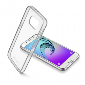 CELLULAR LINE Clear Duo Etui Samsung Galaxy A3 2016 transparentne