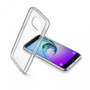 CELLULAR LINE Clear Duo Etui Samsung Galaxy A5 2016 transparentne