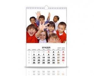 3 kalendarze 12 miesięczne A3+ z Twoimi zdjęciami  | - 50 % taniej - Crazyfoto.pl